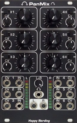 Eurorack Module PanMix - black from Happy Nerding
