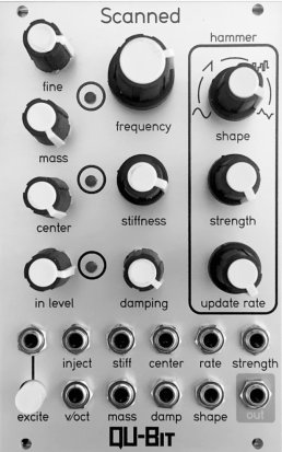Eurorack Module Scanned (Natural) from Qu-Bit Electronix