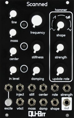 Eurorack Module Scanned from Qu-Bit Electronix