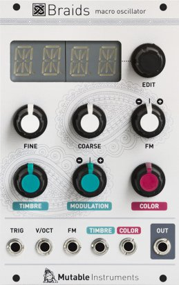 Eurorack Module Braids (old version) from Mutable instruments