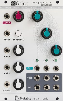 Eurorack Module Grids from Mutable instruments
