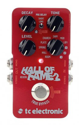 Pedals Module Hall of Fame 2 from TC Electronic