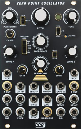 Eurorack Module Zero Point Oscillator from Steady State Fate