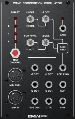 Eurorack Module WAVE COMPOSITION OSCILLATOR from EMW