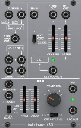 Eurorack Module SYSTEM 100 150 RING MOD/NOISE/ S&H/LFO from Behringer