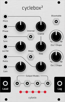 Eurorack Module Cyclebox (Grayscale panel) from Grayscale