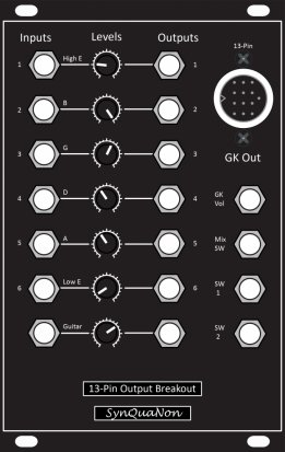 Eurorack Module 13-Pin Output Breakout from SynQuaNon
