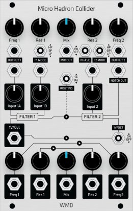 Eurorack Module Micro Hadron Collider (uHC) (Grayscale panel) from Grayscale