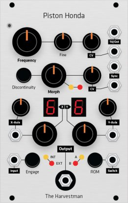 Eurorack Module Piston Honda (16hp Grayscale panel) from Grayscale