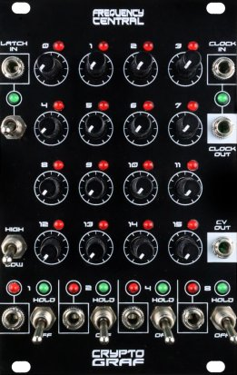Eurorack Module Cryptograf from Frequency Central