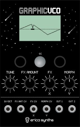 Eurorack Module Graphic VCO from Erica Synths