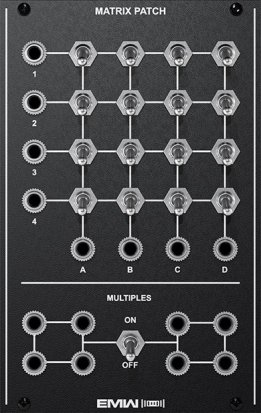 Eurorack Module MATRIX PATCH from EMW