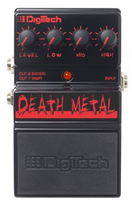 Pedals Module Death Metal from Digitech