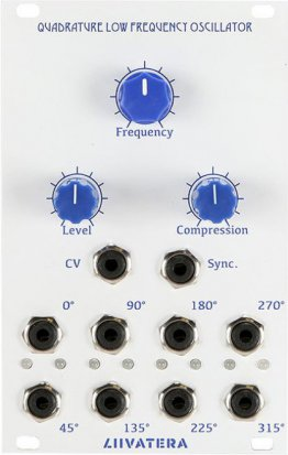 Eurorack Module Quadrature Low Frequency Oscillator from Liivatera