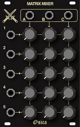 Eurorack Module Matrix Mixer from Other/unknown