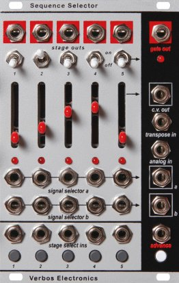 Eurorack Module Sequence Selector from Verbos Electronics