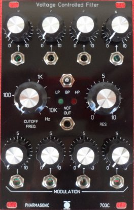 Eurorack Module SYS-700 VCF 703C from Pharmasonic