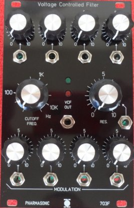 Eurorack Module SYS-700 VCF 703F from Pharmasonic