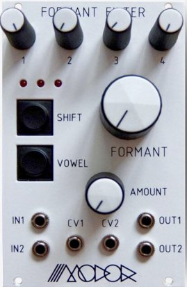 Eurorack Module Formant Filter from Modor Music