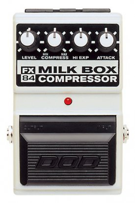 Pedals Module Milk Box FX84 from DOD