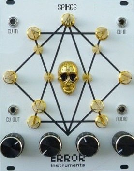 Eurorack Module SPIKES white gold edition. extraordinary from Error Instruments