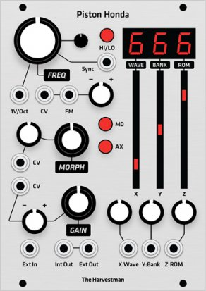 Eurorack Module Piston Honda MK2 (Grayscale panel) from Grayscale
