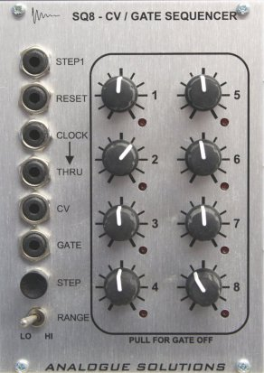 Eurorack Module SQ8 from Analogue Solutions