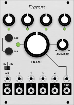 Eurorack Module Mutable Instruments Frames (Grayscale panel) from Grayscale