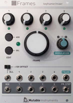 Eurorack Module Frames from Mutable instruments