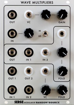 Eurorack Module Serge Wave Multipliers (VCM) from Random*Source