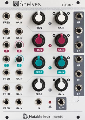 Eurorack Module Shelves (2015) from Mutable instruments