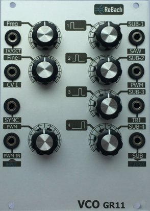 Eurorack Module GR11 VCO from ReBach