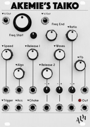 Eurorack Module Akemie's Taiko from ALM Busy Circuits