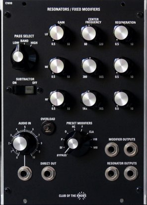 MU Module C 1610 from Club of the Knobs