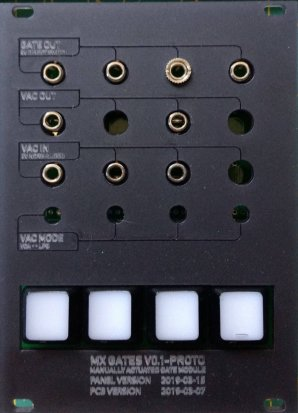 Eurorack Module mxgates from Other/unknown