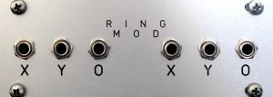 Eurorack Module 1U Dual Passive Ring Mod from Other/unknown