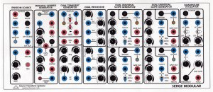 Serge Module CV-2 or Blue Control from Serge