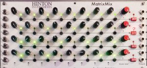 Eurorack Module Matrix mix from Hinton Instruments