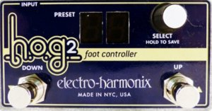 Pedals Module HOG 2 Foot Controller from Electro-Harmonix