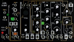 Eurorack Module Modified 0-Coast from Make Noise