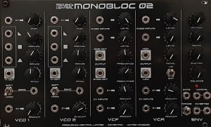 Eurorack Module Monobloc 02 from Frequency Central