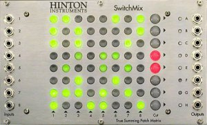 Eurorack Module SwitchMix from Hinton Instruments