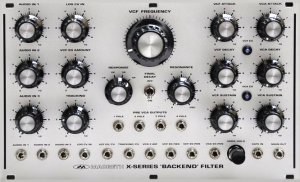 Eurorack Module Backend Filter from Macbeth Studio Systems