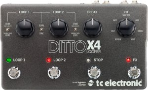 Pedals Module Ditto X4 Looper from TC Electronic