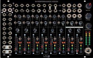 Eurorack Module Performance mixer from WMD