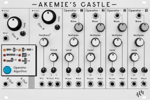 Eurorack Module Akemie's Castle from ALM Busy Circuits