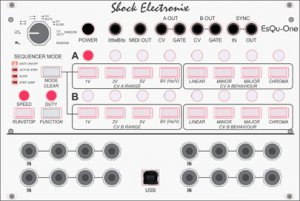 Eurorack Module Shock Electronix Modatron EsQu-One Step Sequencer  from Other/unknown