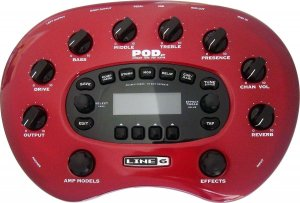 Pedals Module POD XT from Line6