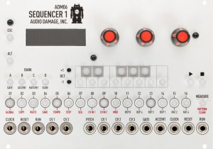 Eurorack Module ADM06 Sequencer 1 from Audio Damage