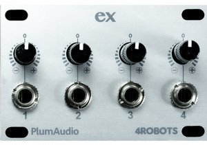 Eurorack Module Ex 12hp from Plum Audio